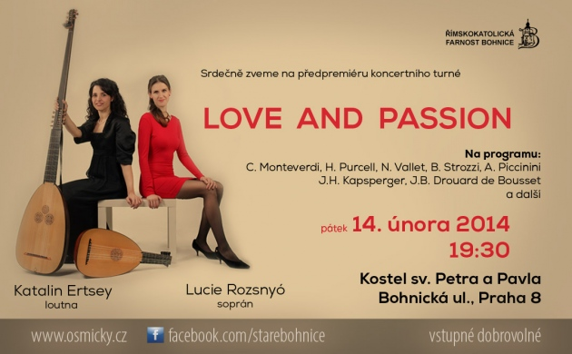 14.2.2014 LOVE AND PASSION