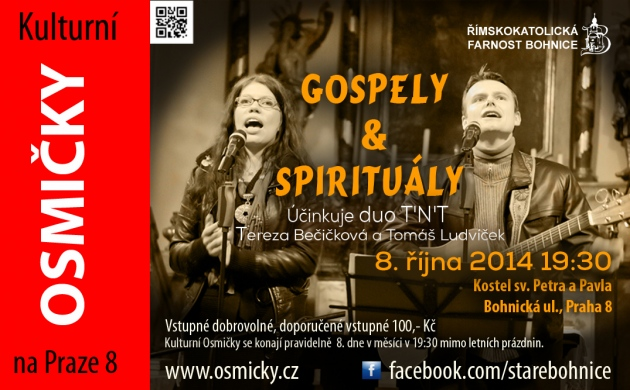 .10.2014 Duo T´n´T - GOSPELY A SPIRITUÁLY